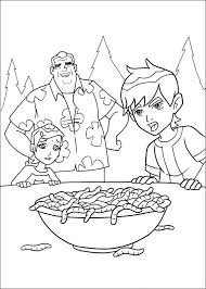 cartoon series ben 10 coloring pages