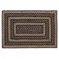 country style braided jute rugs farmhouse