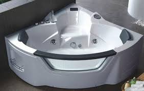 gorgeous corner vessel tub ideas of terrific corner