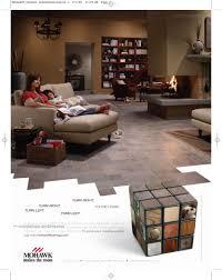 mohawk flooring click clack done print caign usa adland