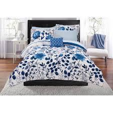 Bed Set Walmart Mainstays Kamala Bed In A Bag Bedding Set Walmart Com Bedding