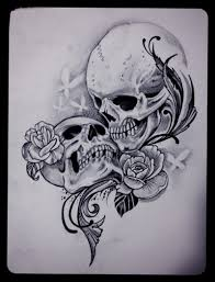 never dies skull roses and bird designs in 2017