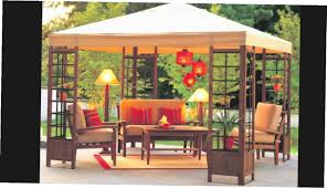 Lowes Gazebo Replacement Parts by Outdoor Replacement Canopy For Target Gazebo Gazebos At Lowes
