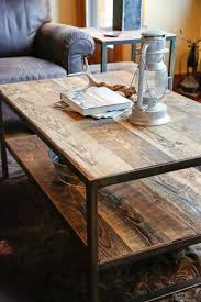 Rustic Iron Coffee Table Best Rustic Wood And Iron Coffee Table Awesome With
