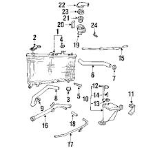 hyundai accent 2000 parts parts com hyundai accent radiator oem parts