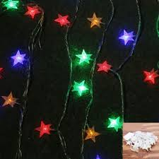 decoration steel string lights clear light