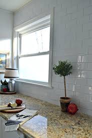 subway tile backsplashes for kitchens subway tile backsplash