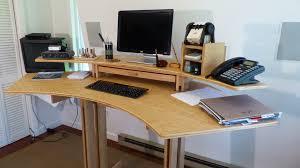 Ergonomic Desk by Stand Up Ergonomic Computer Desk Contoocook Nh Ergonomic Desk