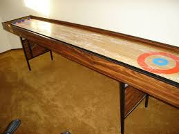 antique shuffleboard table for sale rock ola antique shuffleboard tables for sale at the intended