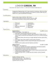 Sample Resume For Er Nurse by Download Rn Sample Resume Haadyaooverbayresort Com