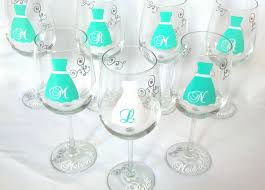 Wedding Gift Glasses 51 Best Fun Wine Glasses Images On Pinterest Wedding Glasses