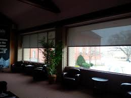 hunter douglas roller screen shades for your office or