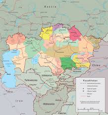 Middle East Map Capitals by Kazakhstan Map Capital Astana