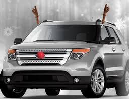 reindeer antlers for car clip on reindeer antler car set sisupplies
