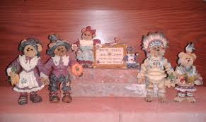 bears thanksgiving decor u2013 displaying a boyds bears collection part 1 the