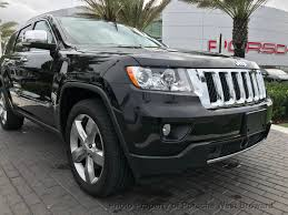 jeep grand cherokee overland 2013 used jeep grand cherokee 4wd 4dr overland at porsche west