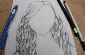 easy step by step instructions for drawing curly hair