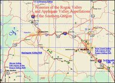 map of oregon wineries map to the wineries of oregon s umpqua valley in southern