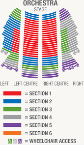 orchestra floor plan vancouver symphony orchestra concerts tickets venue information