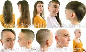 female haircutting videos clipper short haircut girls