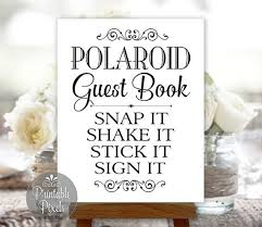 polaroid guest book album the 25 best polaroid guest books ideas on photo guest