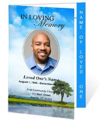 sle funeral programs loved one free microsoft office funeral service or
