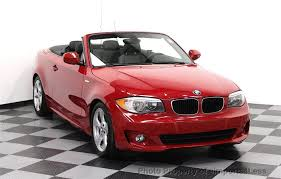 used bmw 1 series convertible 2012 used bmw 1 series certified 128i sport package convertible at