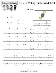 printable letter c tracing worksheets for preschool printable