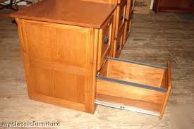 Mission Style File Cabinet file filing cabinet 4 drawer lateral solid oak