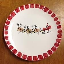 christmas plate 18 best santa plate images on christmas plates