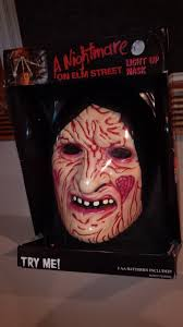 Kids Freddy Krueger Halloween Costume 2 Cool Ghouls Freddy Krueger Light Mask