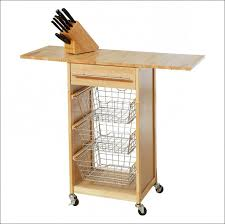 folding kitchen island cart kitchen kitchen garbage cans rolling kitchen island rolling