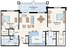 floor pla two bedroom apartment floor plan larksfield place