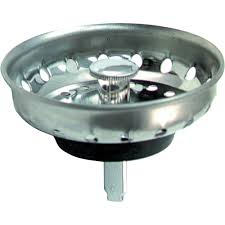 Peerless Deluxe Stainless Sink Strainer With Post Walmartcom - Kitchen sink drain plug