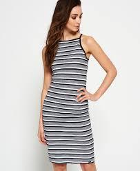 womens midi dresses mid length dresses superdry