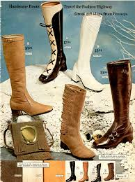 womens boots in fashion 1970s boots crinkle platform stretch boots more