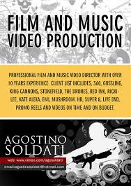 Music Video Production Companies Upmarket Bold Flyer Design For Agostino Soldati By Webwinner