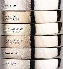 14k palladium white gold white metals comparison corey egan