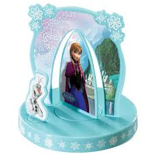 disney frozen party cake topper 4 pieces birthdayexpress