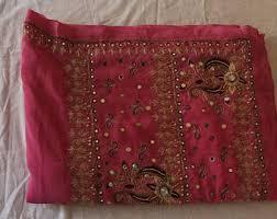 Sari Fabric Curtains Indian Sari Fabric Etsy