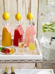 stylish cocktail ideas for a summer bridal shower crazyforus