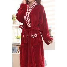 robe de chambre hiver de chambre polaire femme