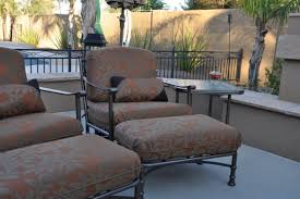 Replacing Fabric On Patio Chairs Classic Outdoor Design With Mediterranean Patio Furniture