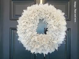 diy farmhouse burlap wreath vintage paint and more
