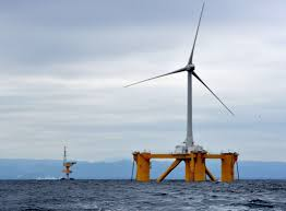 to expand offshore power japan builds floating windmills the