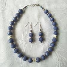 beads necklace india images Buy glass beads necklace and earrings online in india wudbox jpg