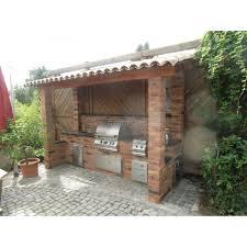 outdoor küche outdoorküche aus backstein mit magic einbau gasgrill selber bauen