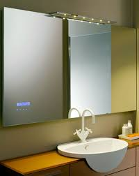 Cool Bathroom Mirror Ideas by Bathroom Mirrors With Lights Attached 8 Fascinating Ideas On