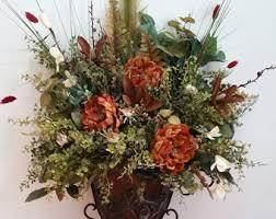Traditional Flower Arrangement - elegant traditional italian old world decor wall sconce fall