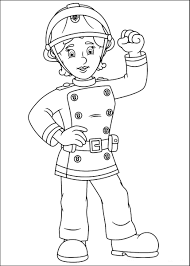 fireman sam coloring pages coloring firemansam 点力图库